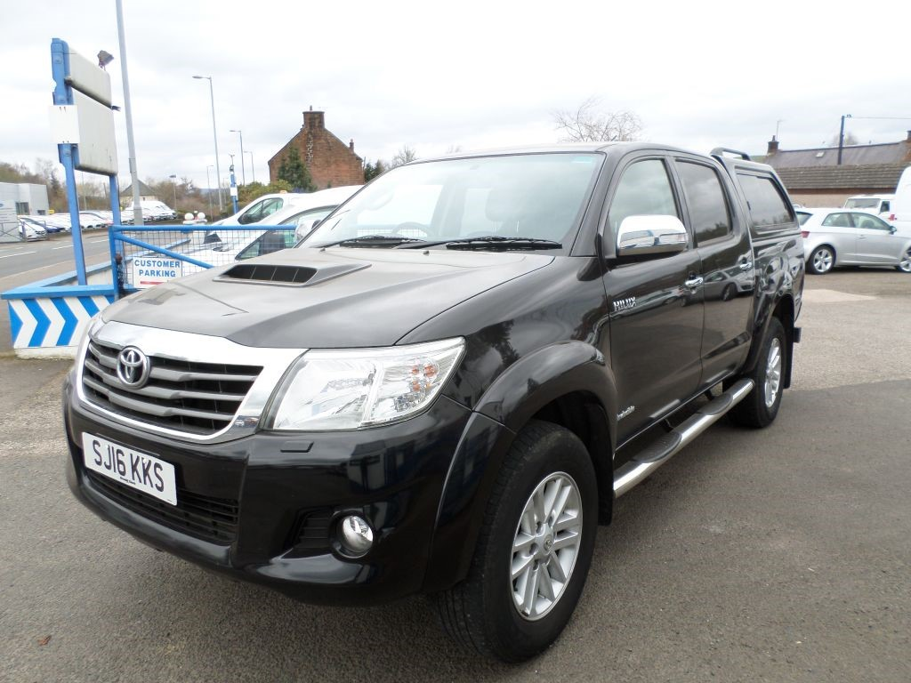 Used Black Toyota Hilux for Sale | Dumfries and Galloway
