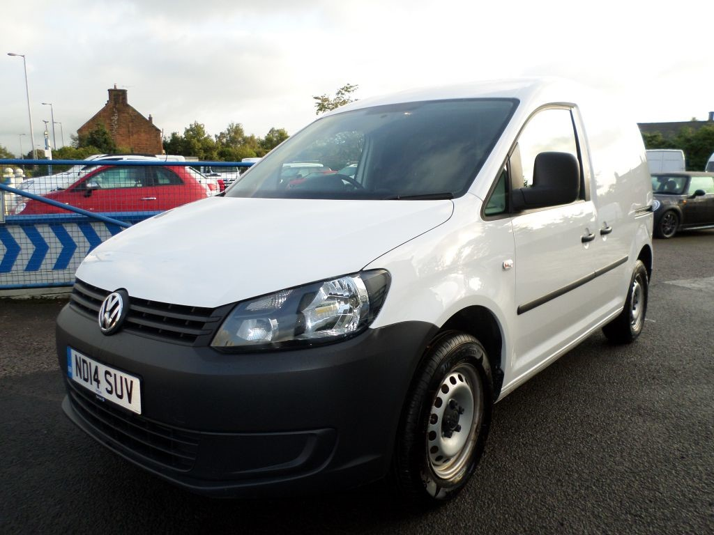 Used White Vw Caddy For Sale Dumfries And Galloway