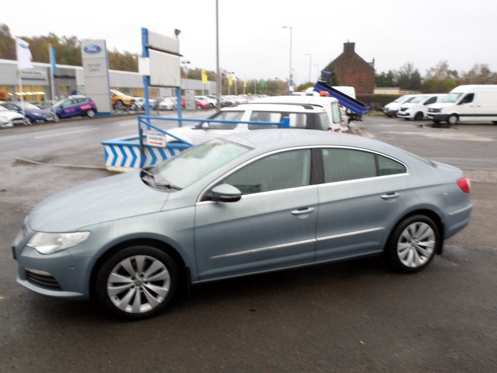 Used Grey Vw Passat Cc For Sale Dumfries And Galloway