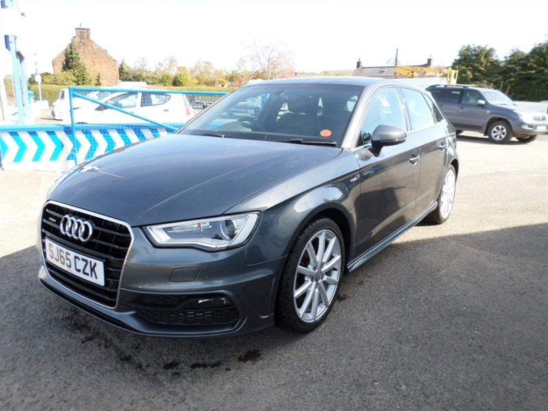used Audi A3 TDI QUATTRO S LINE in dumfries-and-galloway