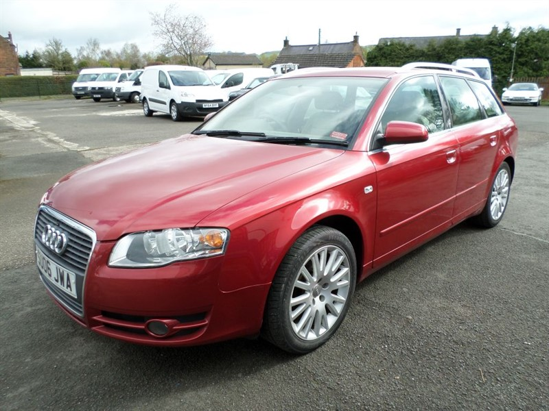 used Audi A4 Avant TDI SE TDV in dumfries-and-galloway