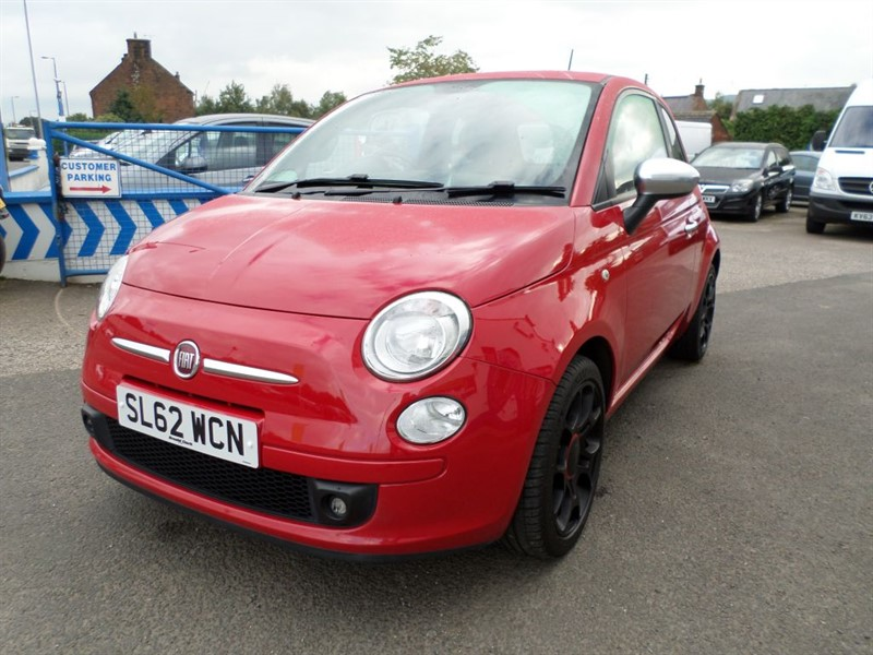 used Fiat 500 STREET in dumfries-and-galloway