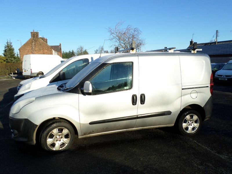 used Fiat Doblo CARGO 16V SX MULTIJET in dumfries-and-galloway