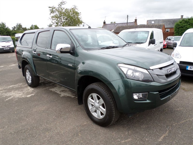 used Isuzu D-Max TD EIGER DCB in dumfries-and-galloway