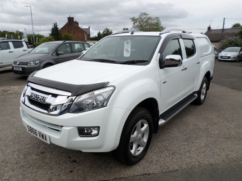 used Isuzu D-Max TD UTAH VISION DCB in dumfries-and-galloway