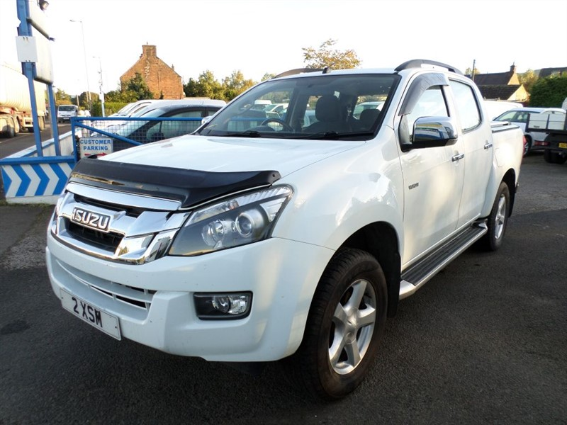 used Isuzu D-Max TD YUKON DCB in dumfries-and-galloway