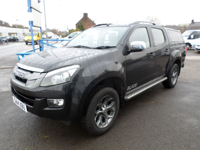used Isuzu D-Max TD BLADE DCB in dumfries-and-galloway