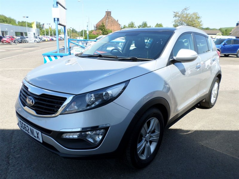 used Kia Sportage CRDI 2 in dumfries-and-galloway