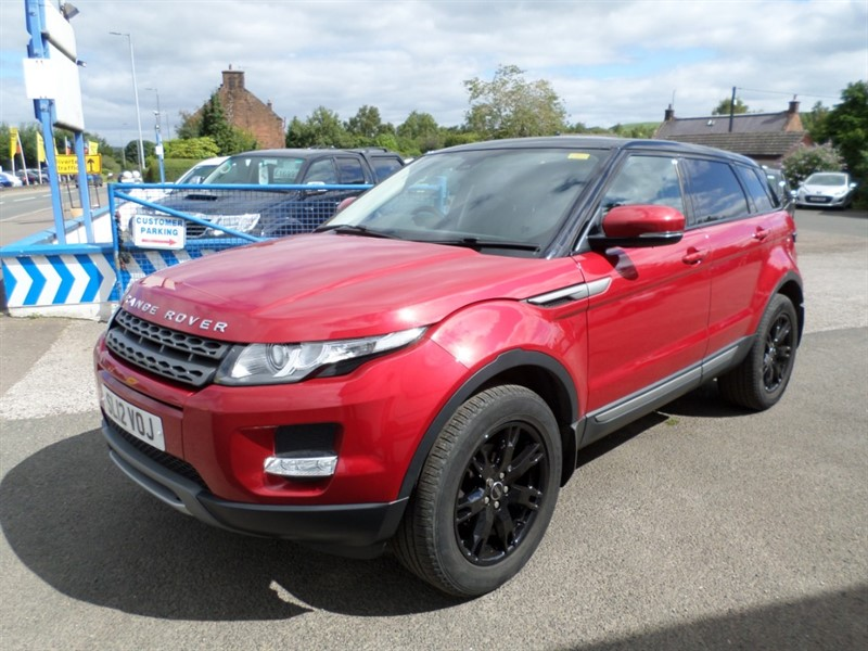 used Land Rover Range Rover Evoque TD4 PURE in dumfries-and-galloway