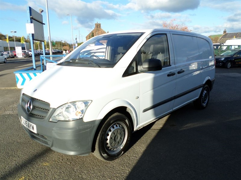 used Mercedes Vito 113 CDI in dumfries-and-galloway