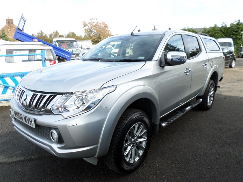 used Mitsubishi L200 DI-D 4X4 BARBARIAN DCB in dumfries-and-galloway
