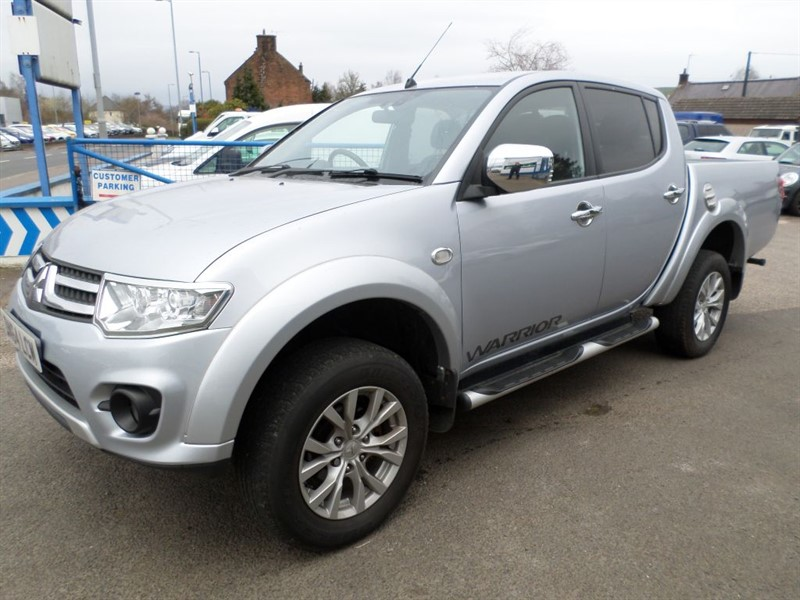 used Mitsubishi L200 DI-D 4X4 WARRIOR LB DCB in dumfries-and-galloway