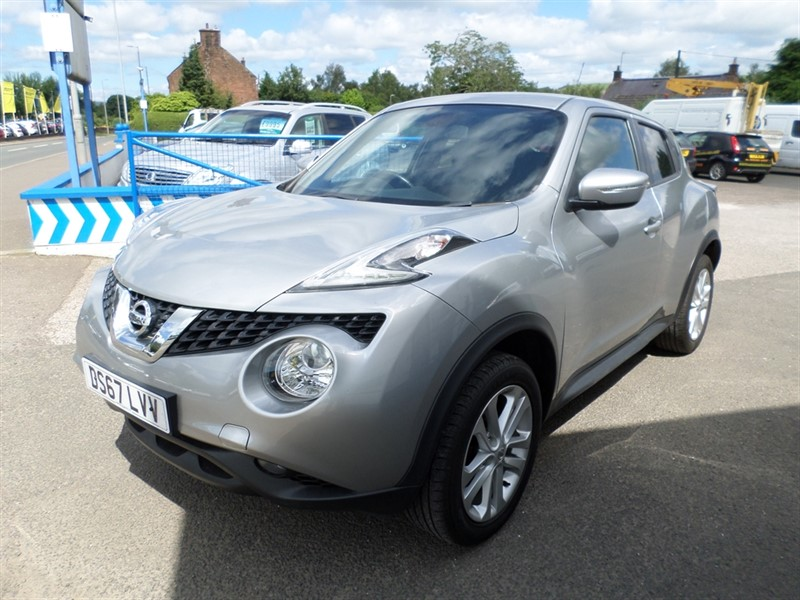 used Nissan Juke N-CONNECTA XTRONIC in dumfries-and-galloway