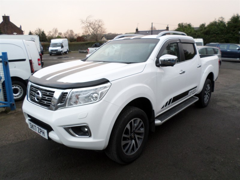 used Nissan Navara DCI TEKNA 4X4 SHR DCB in dumfries-and-galloway