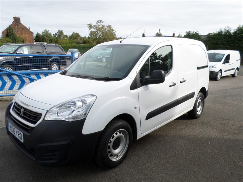 used Peugeot Partner HDI S L1 850 in dumfries-and-galloway