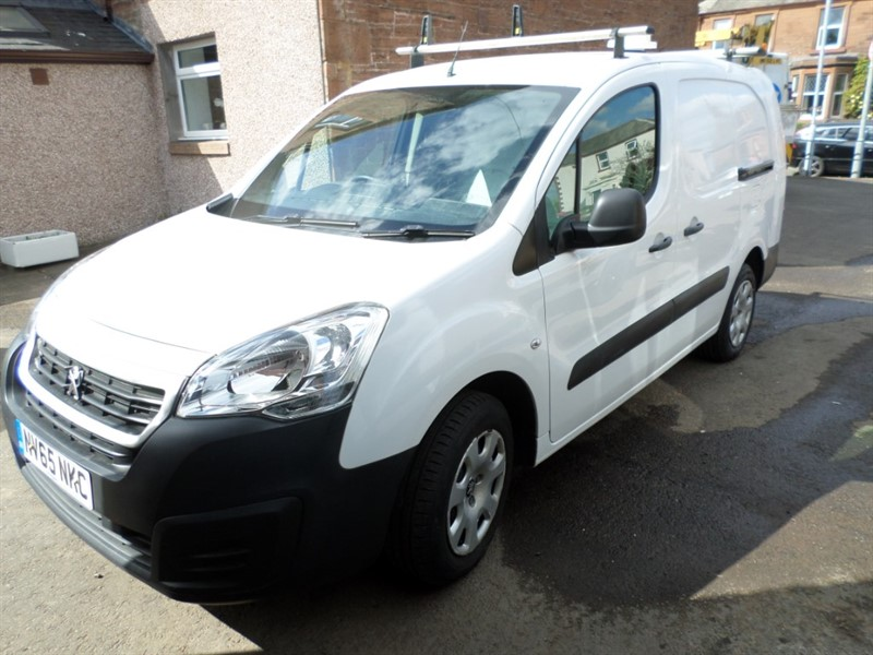 used Peugeot Partner HDI S L2 750 in dumfries-and-galloway