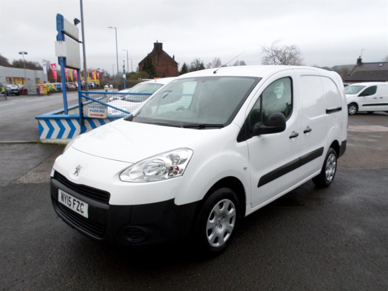 used Peugeot Partner HDI CRC in dumfries-and-galloway