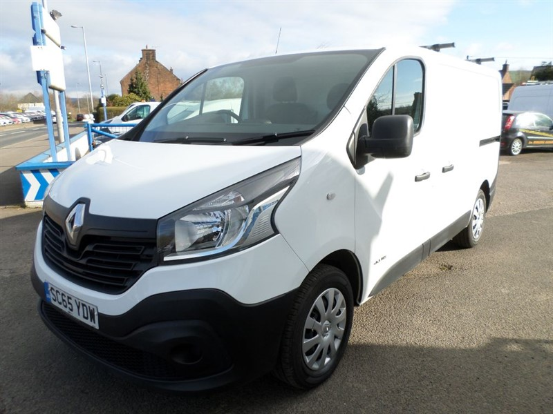 used Renault Trafic SL27 BUSINESS DCI S/R P/V in dumfries-and-galloway
