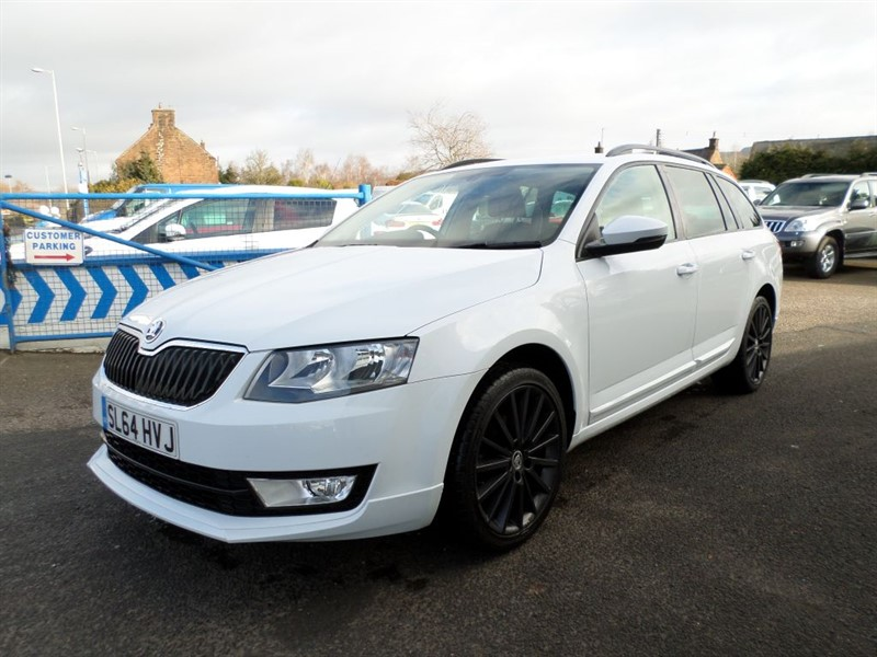 used Skoda Octavia BLACK EDITION TDI CR in dumfries-and-galloway