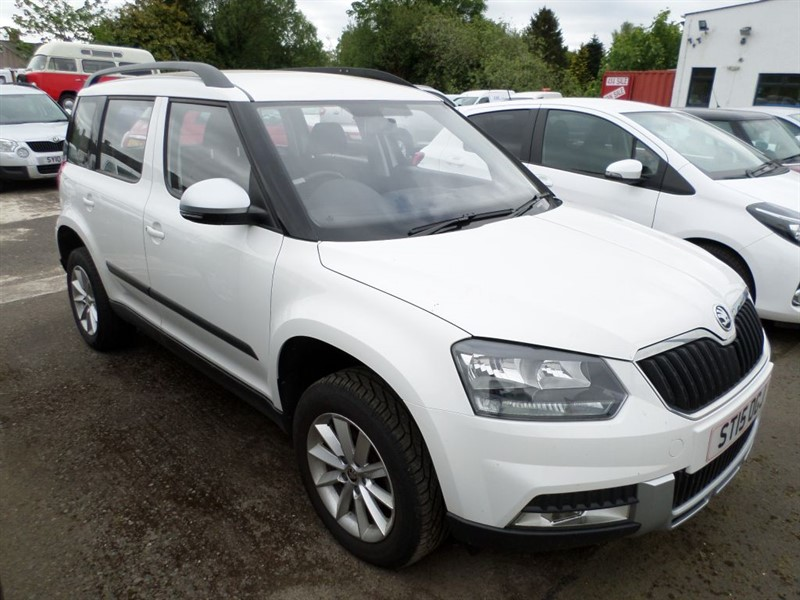 used Skoda Yeti OUTDOOR S TDI CR in dumfries-and-galloway