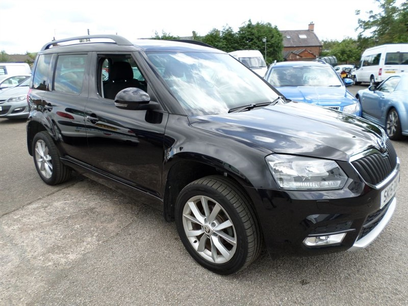 used Skoda Yeti SE TDI CR in dumfries-and-galloway