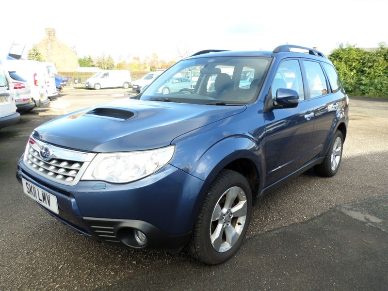 used Subaru Forester D XC in dumfries-and-galloway