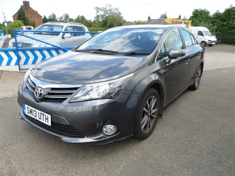 used Toyota Avensis D-4D ICON in dumfries-and-galloway