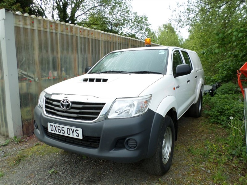 used Toyota  HI-LUX ACTIVE 4X4 D-4D DCB in dumfries-and-galloway