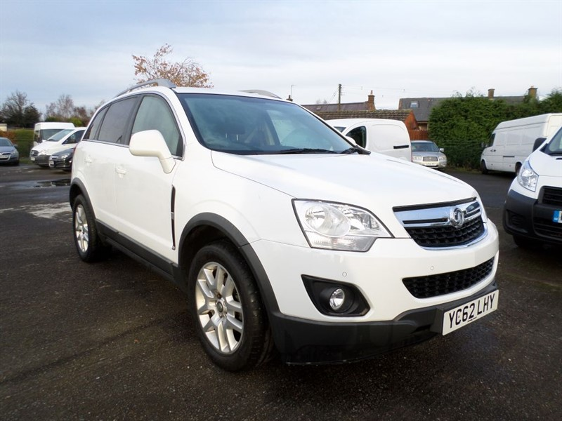 used Vauxhall Antara EXCLUSIV CDTI 4WD S/S in dumfries-and-galloway