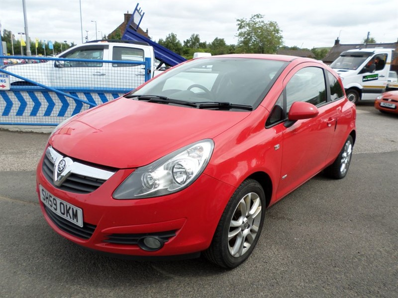 used Vauxhall Corsa SXI CDTI in dumfries-and-galloway
