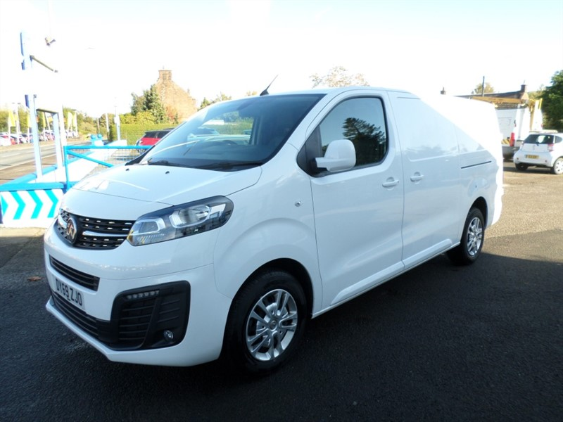 used Vauxhall Vivaro L2H1 2900 SPORTIVE S/S in dumfries-and-galloway