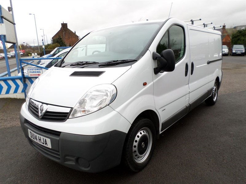 used Vauxhall Vivaro 2900 CDTI in dumfries-and-galloway