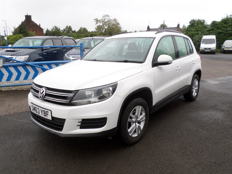 used VW Tiguan S TDI BLUEMOTION TECHNOLOGY 4MOTION in dumfries-and-galloway