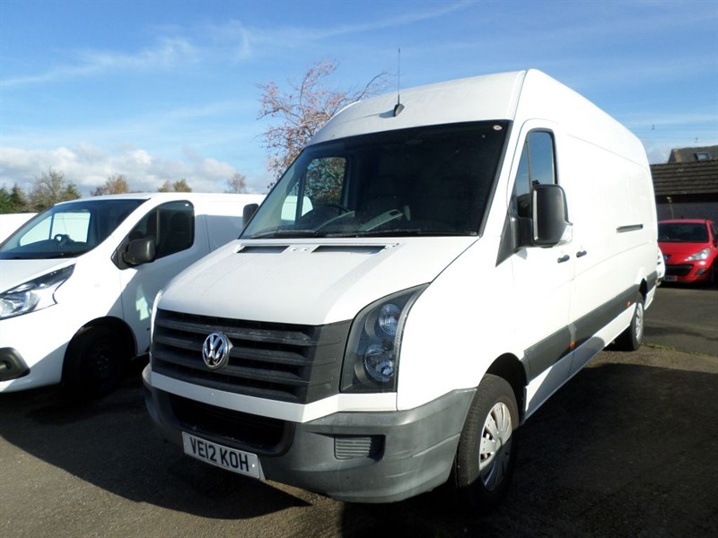 used VW Crafter CR35 TDI in dumfries-and-galloway