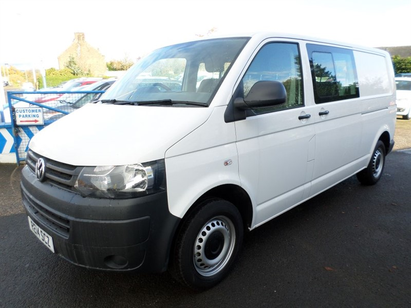 used VW Transporter T32 TDI KOMBI STARTLINE in dumfries-and-galloway
