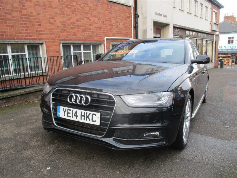 used Audi A4 Avant TDI S LINE START/STOP in leicester