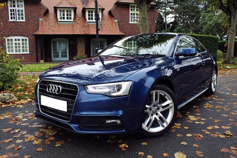 used Audi A5 TDI S LINE S/S in leicester