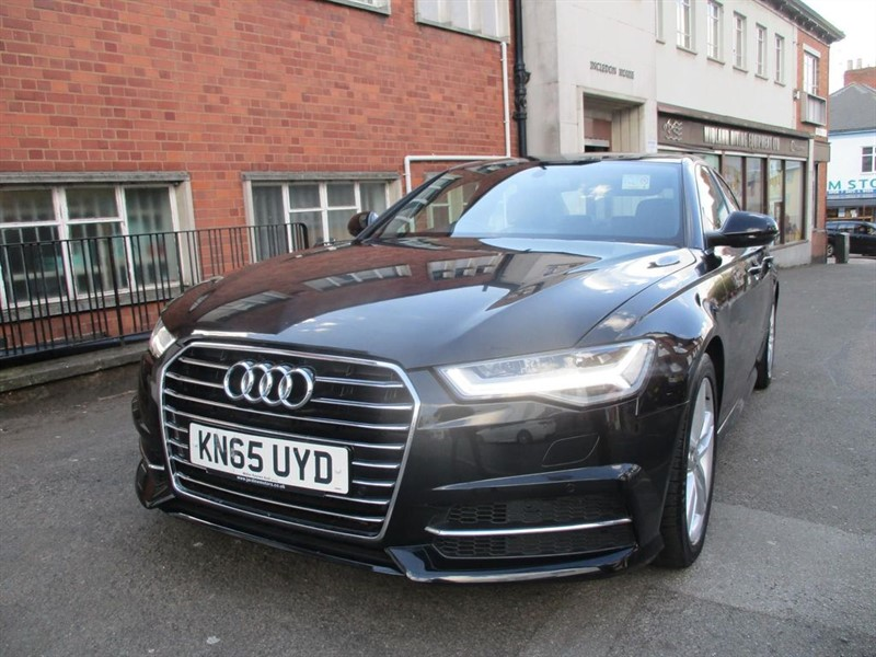 used Audi A6 TDI ULTRA S LINE in leicester