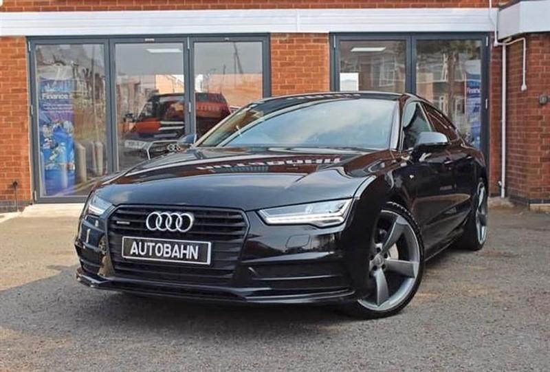 used Audi A7 SPORTBACK TDI QUATTRO  BLACK ED in leicester