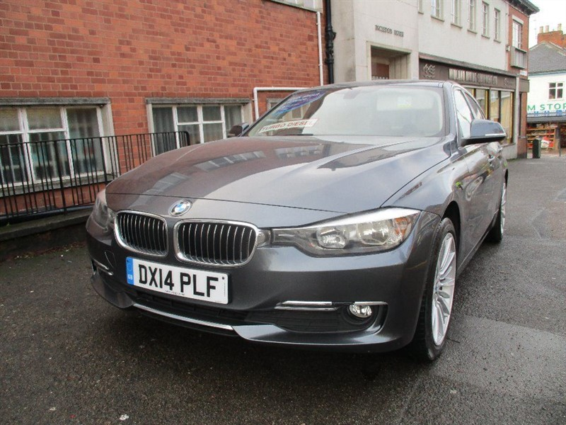 used BMW 318d LUXURY in leicester