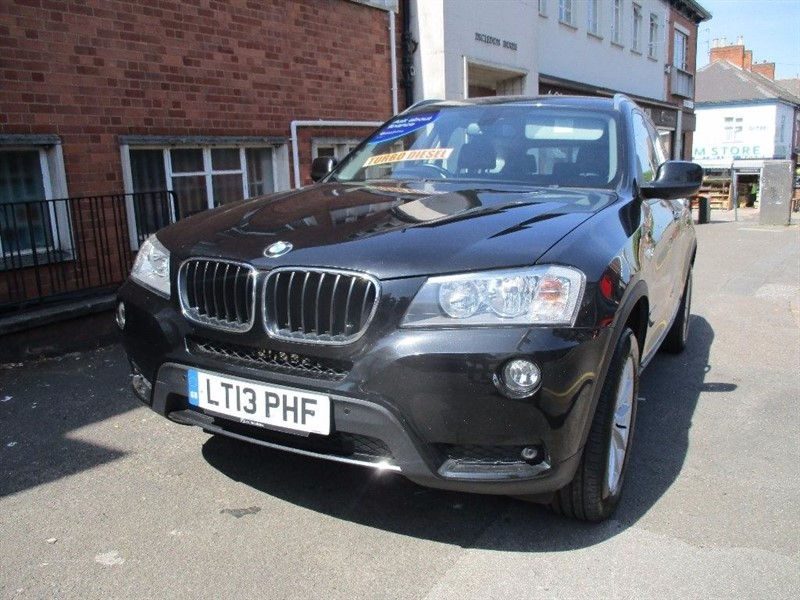 used BMW X3 XDRIVE20D SE in leicester