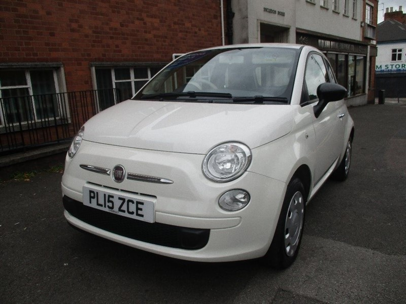 used Fiat 500 TWINAIR LOUNGE in leicester