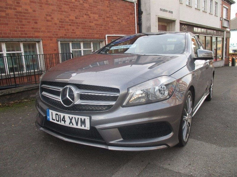 used Mercedes A200 CDI AMG SPORT in leicester