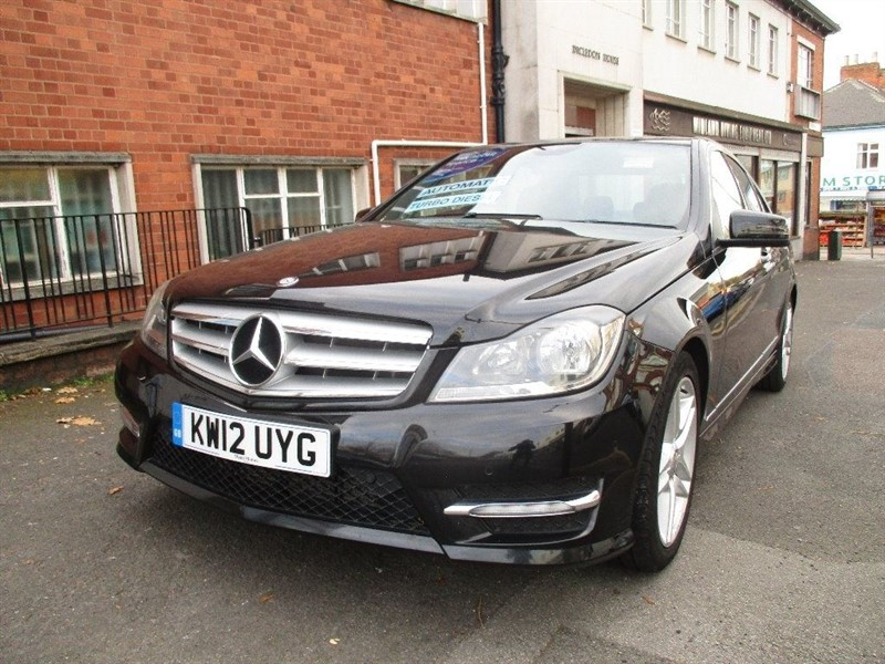 used Mercedes C220 CDI BLUEEFFICIENCY AMG SPORT in leicester