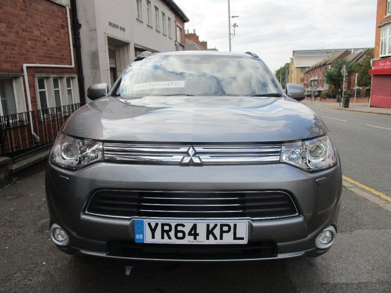 used Mitsubishi Outlander PHEV GX 4HS in leicester