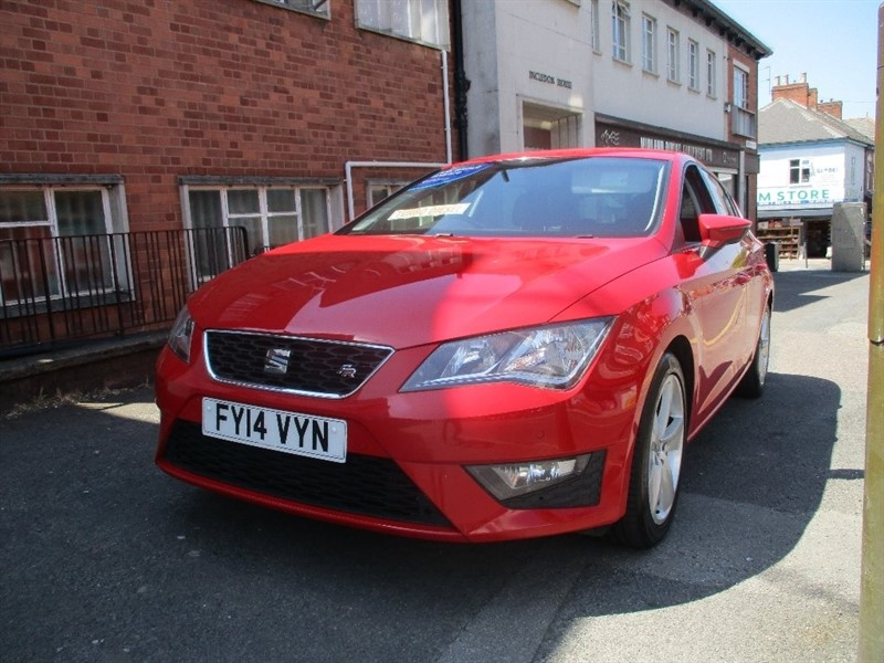 used SEAT Leon TDI FR in leicester