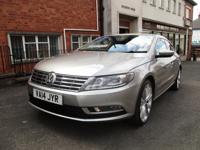 used VW CC GT TDI BLUEMOTION TECHNOLOGY in leicester