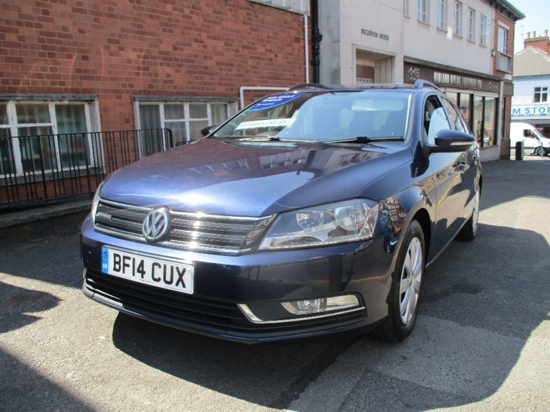 used VW Passat BLUEMOTION TDI in leicester