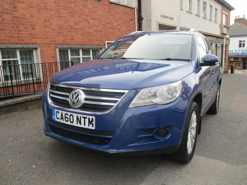 used VW Tiguan MATCH TDI 4MOTION in leicester