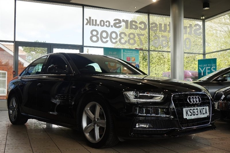 used Audi A4 TDI S line Multitronic 4dr in basingstoke-hampshire